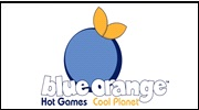 blue orange entouré